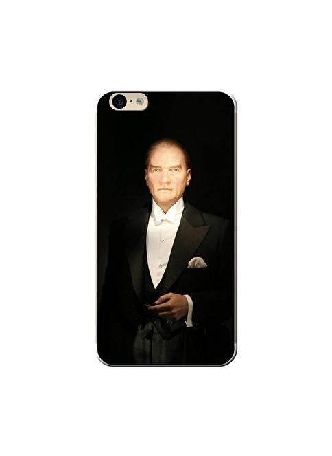 People's Cover iPhone 6 Plus Kabartmalı Telefon Kılıfı Renkli